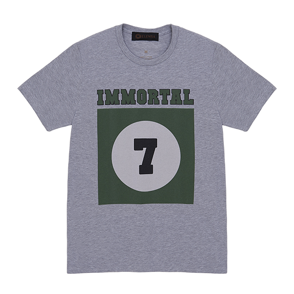 RTMT0003GRY T-Shirt Grey Immortal 7_147